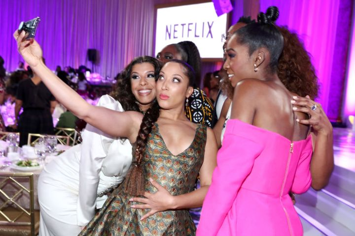 Hailie Sahar, Robin Thede, and Angelica Ross