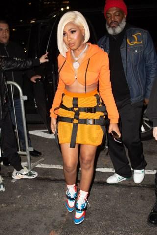 Celebrity Sightings In New York City - February 08, 2019
