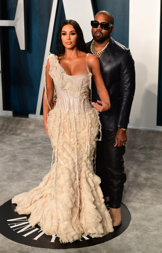 Kim Kardashian and Kanye Wes