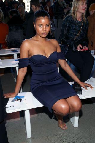 Badgley Mischka - Front Row - February 2020 - New York Fashion Week: The Shows