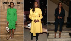 Issa Rae At Fashion Week