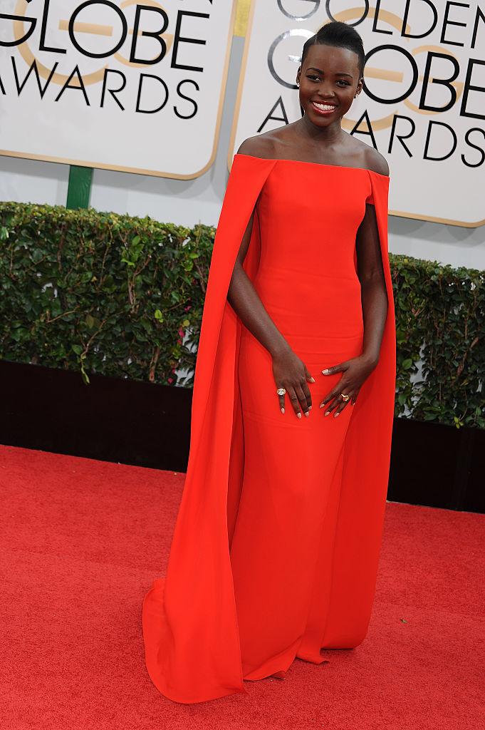 Lupita Nyong'o, 2014 Golden Globe Awards