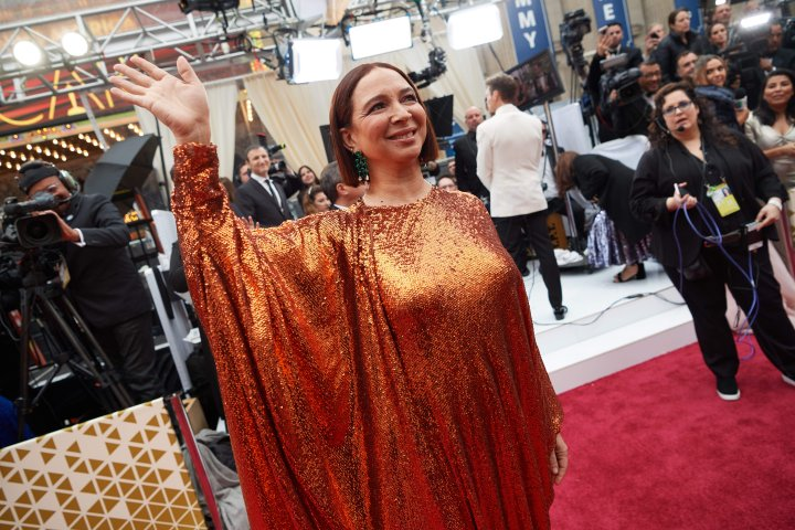 Maya Rudolph arrives on the red carpet of The 92nd Oscars® at the Dolby® Theatre in Hollywood, CA...