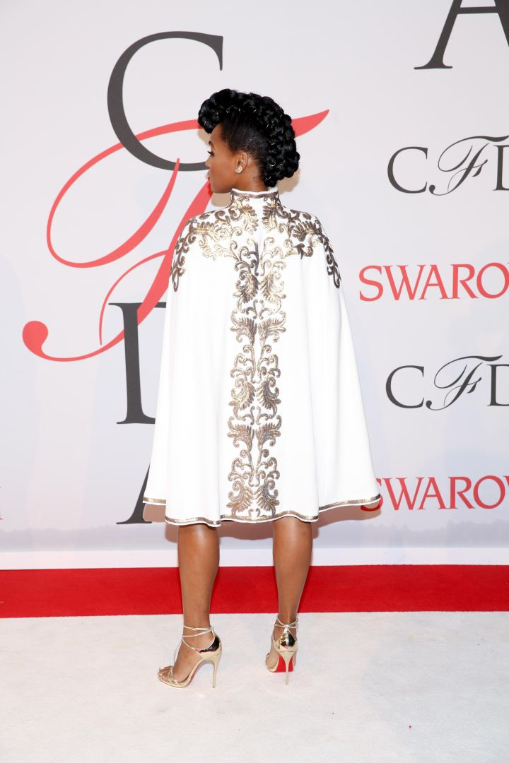 Janelle Monae, 2015 CFDA Fashion Awards