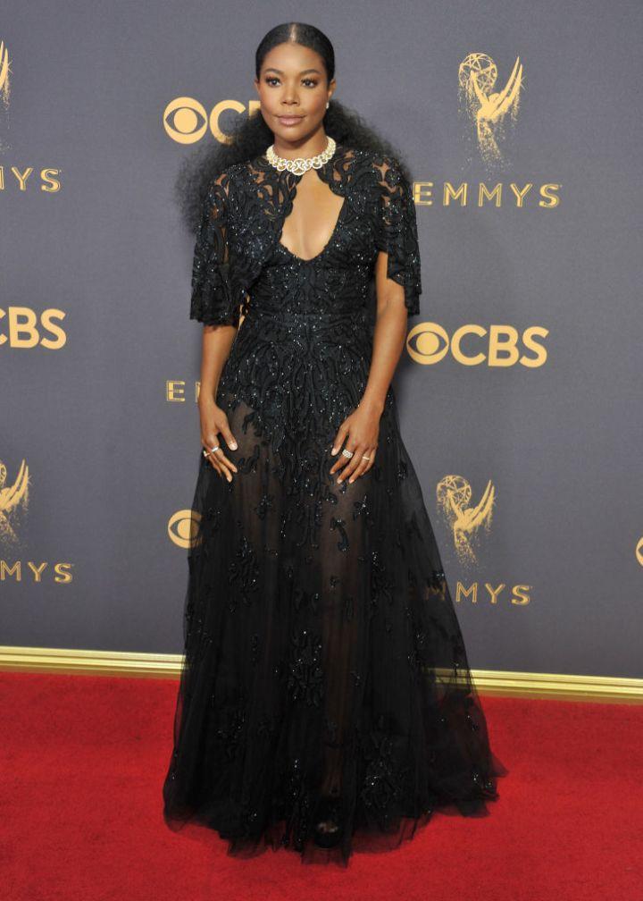Gabrielle Union, 2017 Primetime Emmys