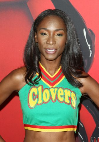 Angelica Ross attends The American Horror Story 100th episode Celebration in Los Angeles