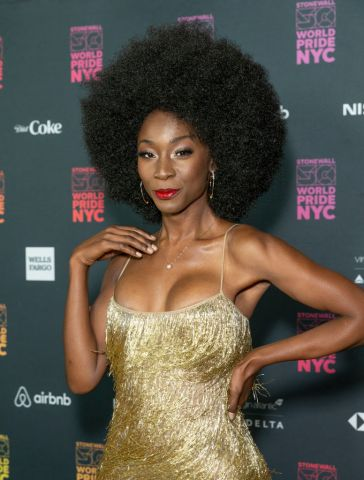 Angelica Ross attends the WorldPride Opening Ceremony...