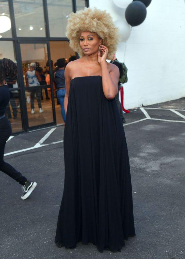 CYNTHIA BAILEY AT MARLO HAMPTON'S HER HAIR COLLECTION SOFT LAUNCH, 2019