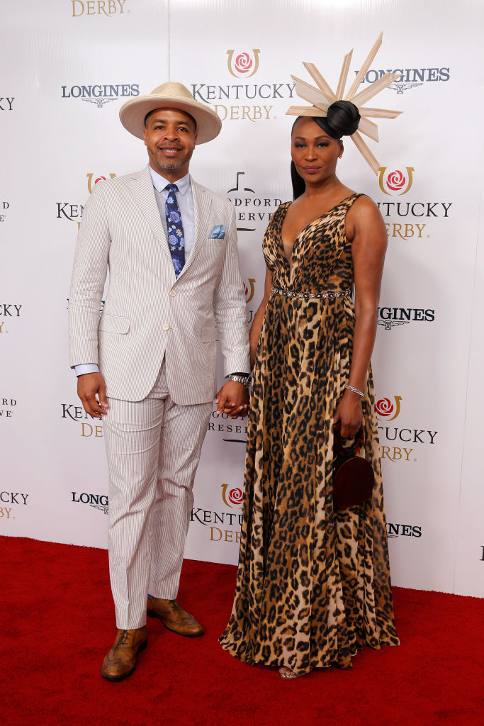 CYNTHIA BAILEY AT THE KENTUCKY DERBY, 2019