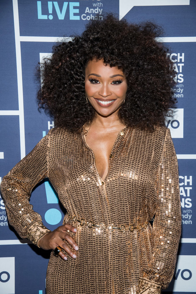 CYNTHIA BAILEY AT 'WATCH WHAT HAPPENS LIVE' WITH ANDY COHEN, 2019