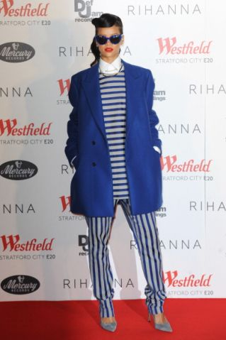 Rihanna Switches On Westfield Stratford City Christmas Lights
