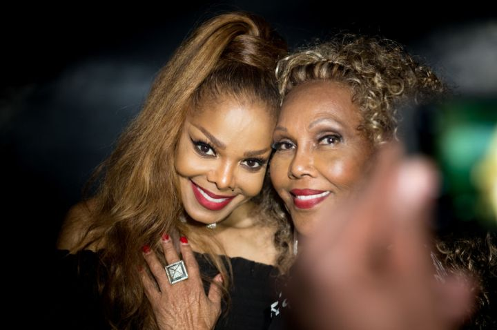 Janet Jackson's State Of The World Tour After Party in 2017