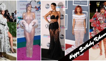Rihanna red carpet moments