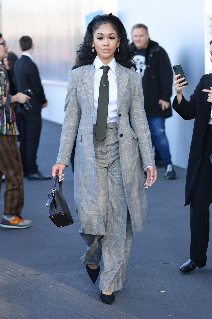 Prada - Arrivals - Milan Fashion Week Fall/Winter 2020-2021