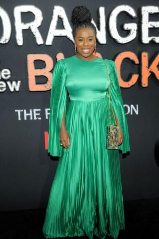 Uzo Aduba attends the 'Orange Is The New Black' Final Season...