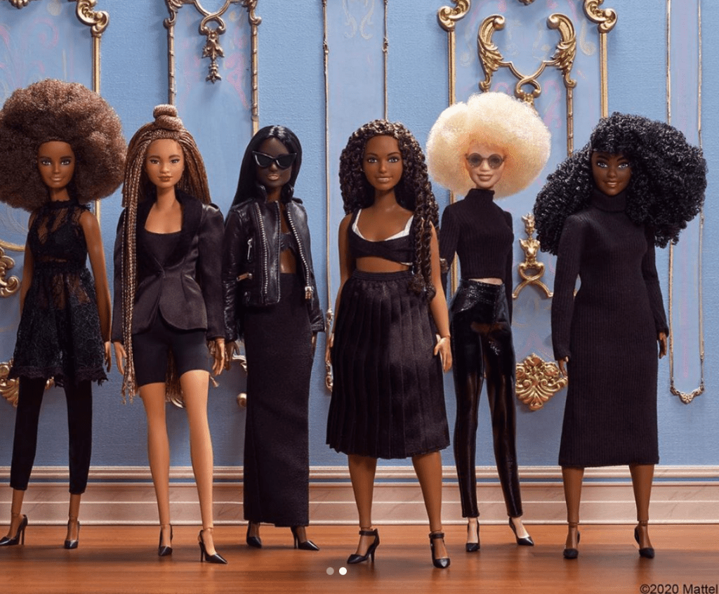 Queen & Slim inspired Barbie Collection