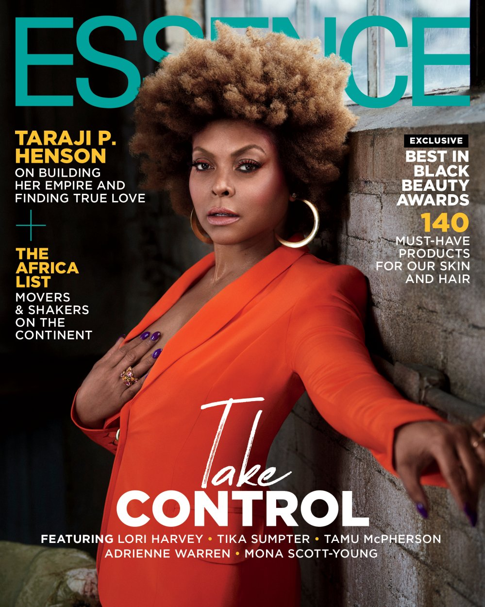 Taraji on Essence March/April Cover