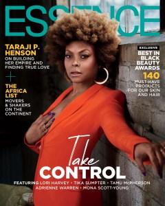 Taraji on Essence March/April Cover