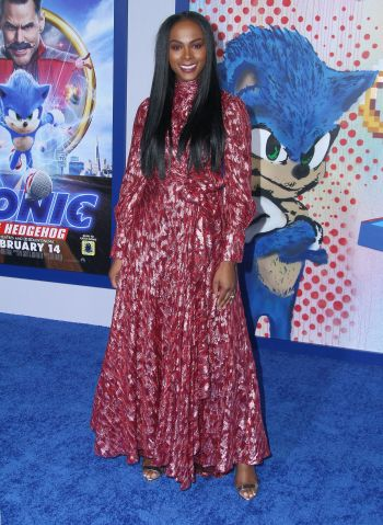 """Tika Sumpter attends The Special Screening of """"Sonic The Hedgehog"""" in Los Angeles"""
