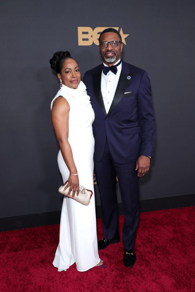 Letitia Johnson and Derrick Johnson