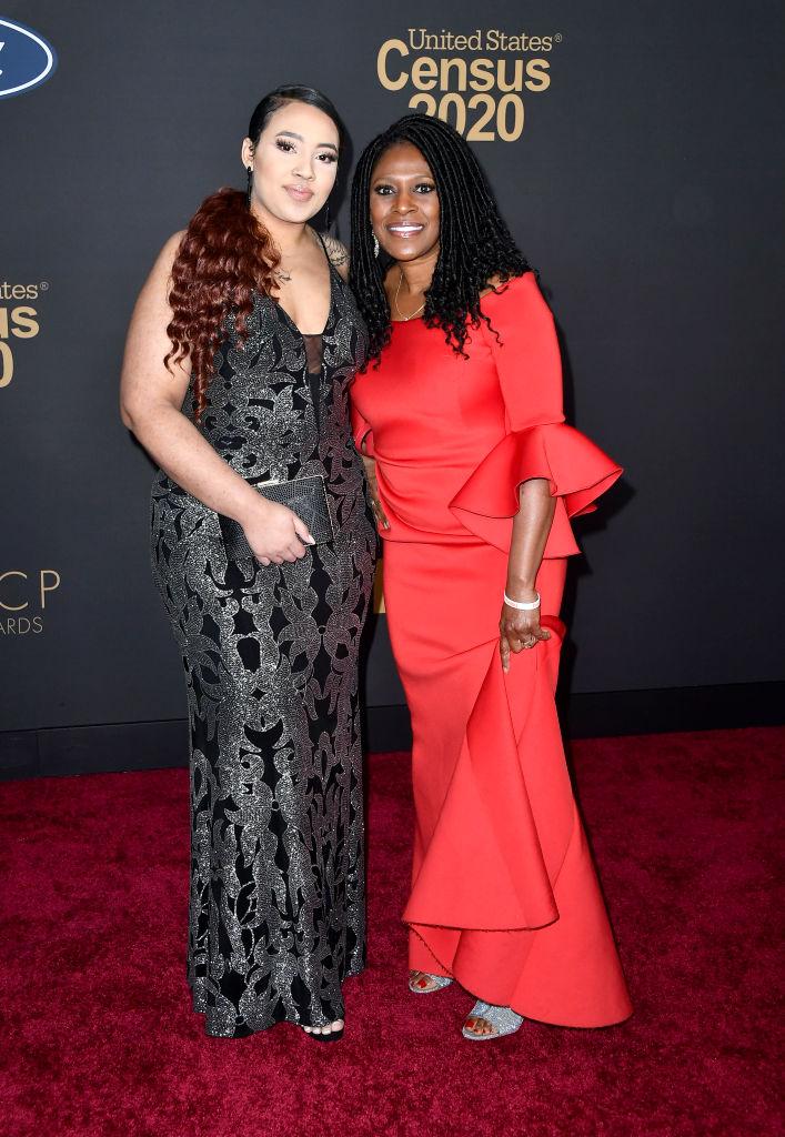 Australyah Coleman and Teresa Haley