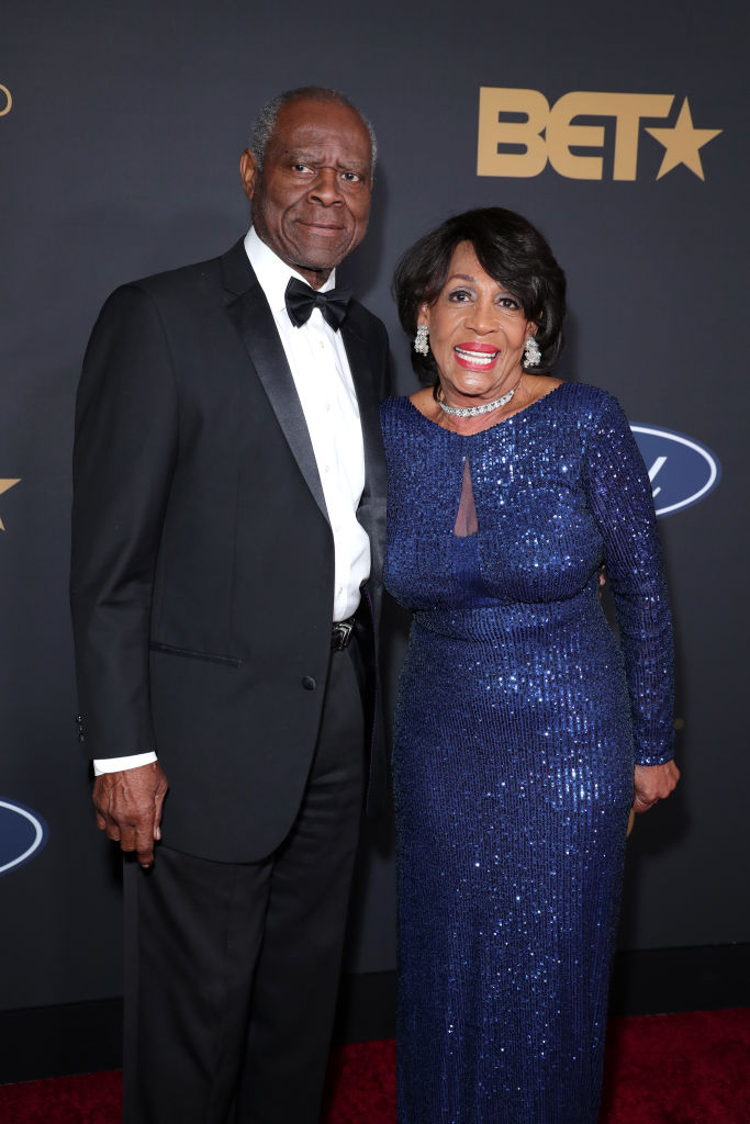 Sid Williams and Maxine Waters