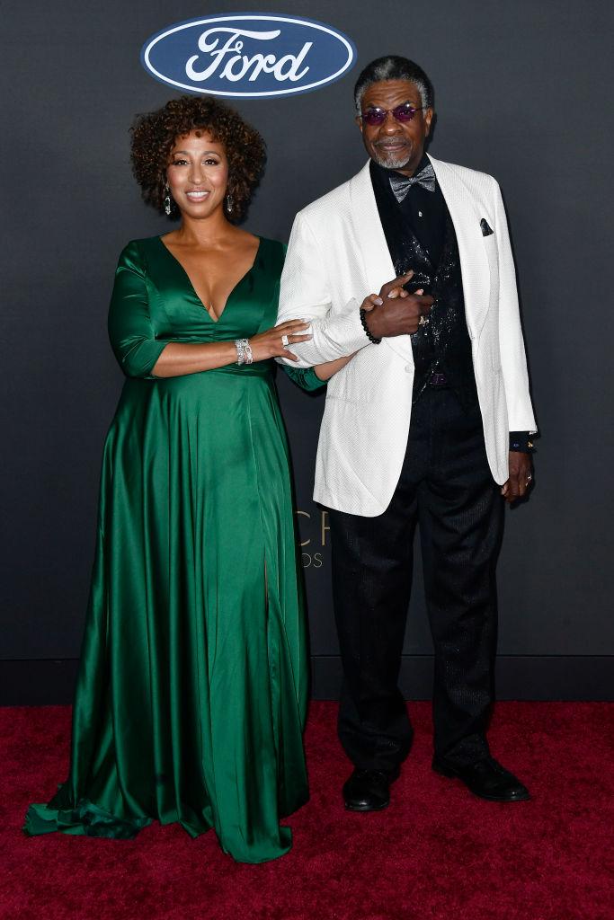 Dionne Lea Williams and Keith David