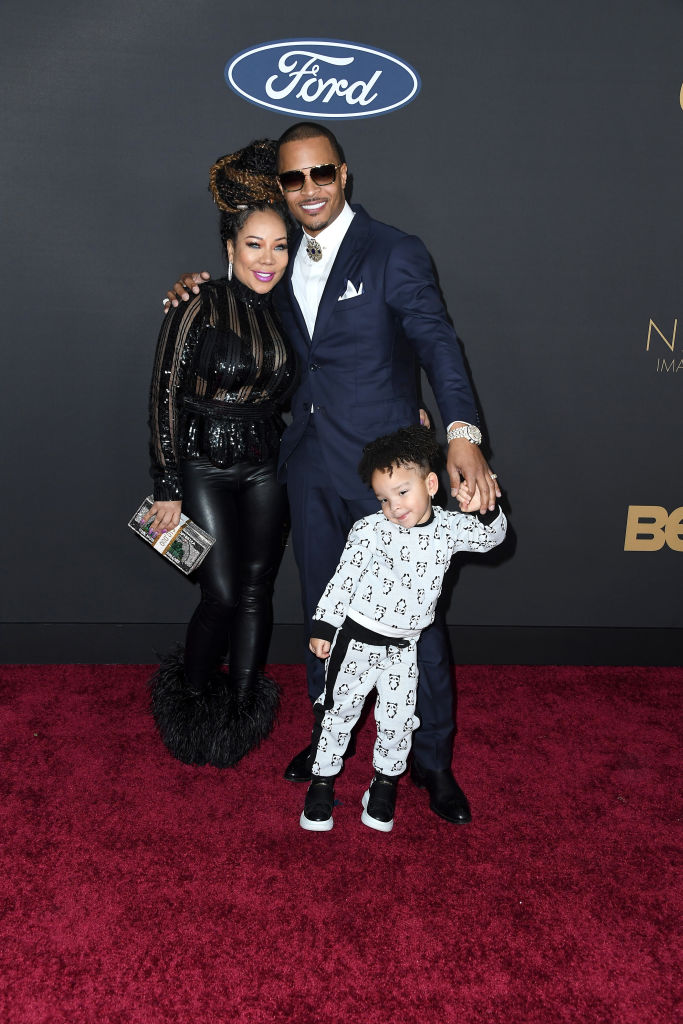 Tameka Cottle, T.I., and family