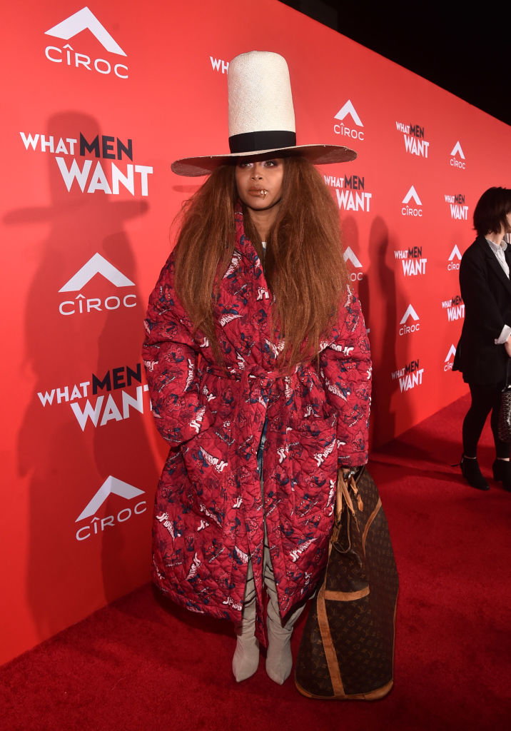 "ERYKAH BADU AT THE ""WHAT MEN WANT"" PREMIERE, 2019"
