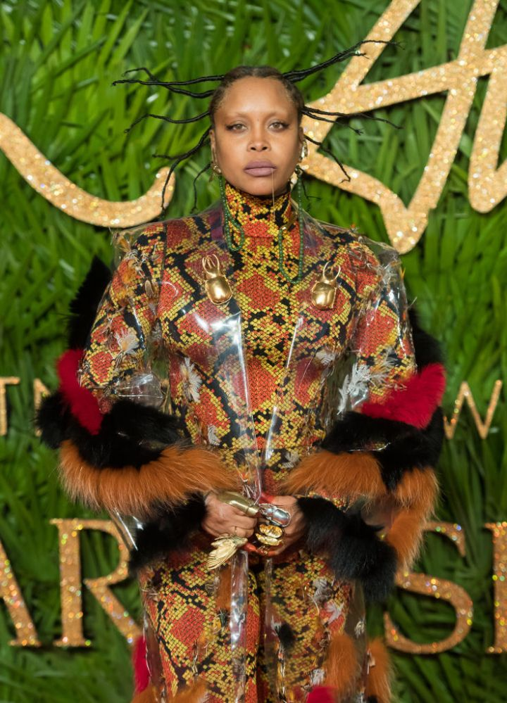 ERYKAH BADU AT THE FASHION AWARDS, 2017
