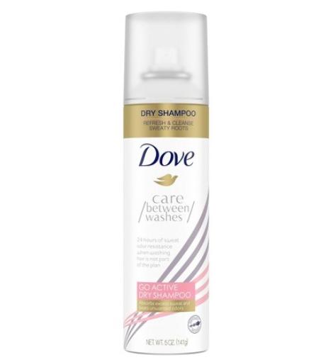 Dove Go Active Dry Shampoo