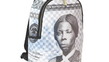Sprayground limited-edition 'Harriet Tubman' book bag