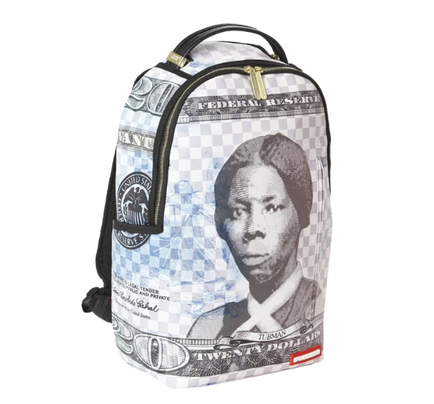 Sprayground limited-edition 'Harriet Tubman' book bag