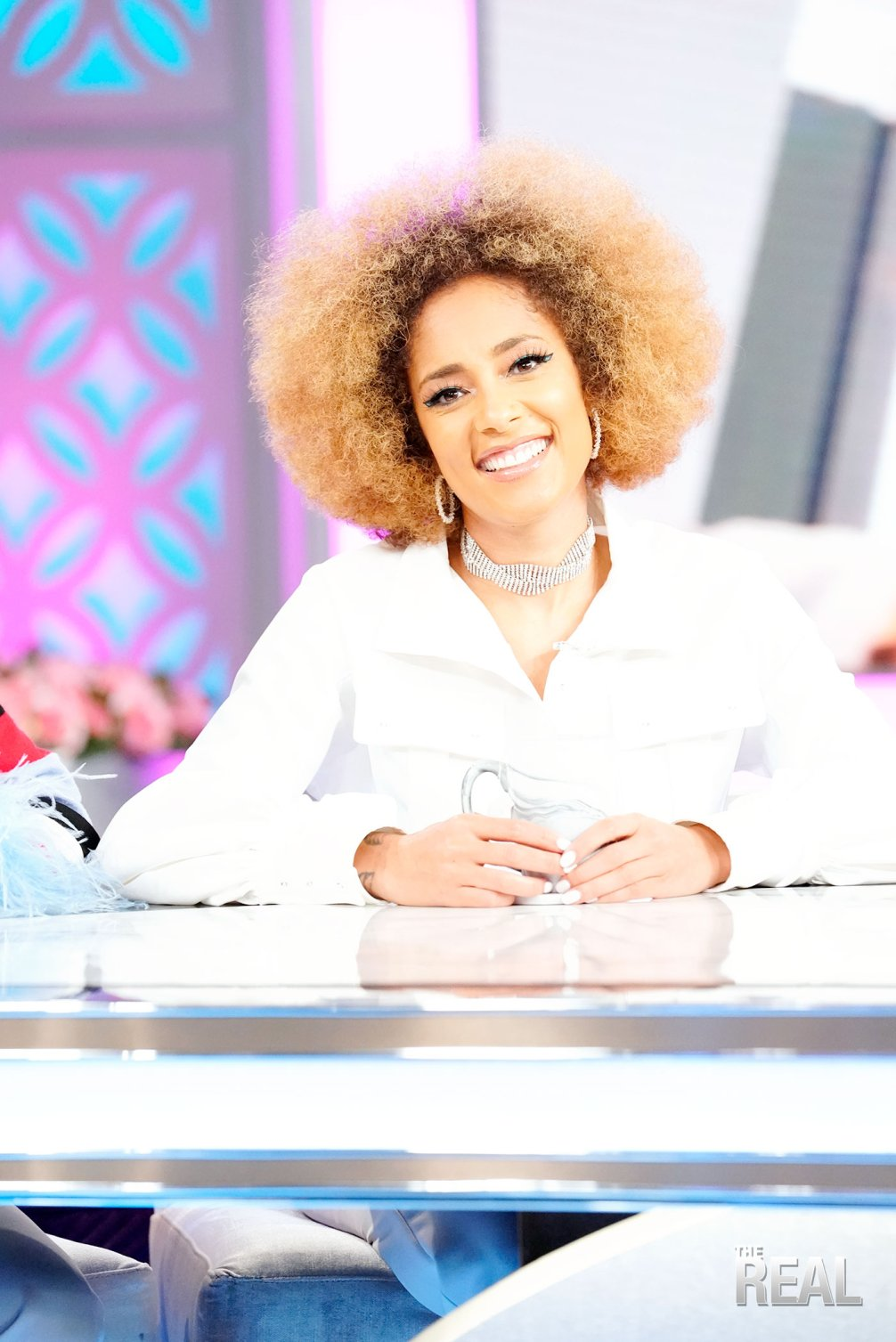 amanda seales afro the real