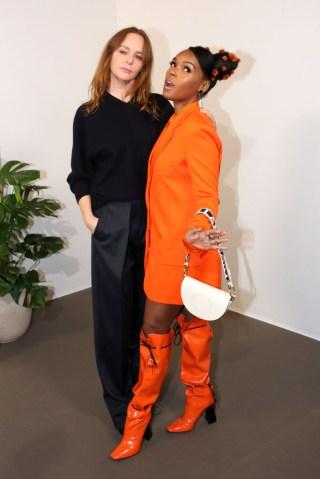 Stella McCartney : Front Row - Paris Fashion Week Womenswear Fall/Winter 2020/2021