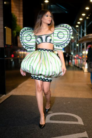Celebrity Sightings In New York City - December 09, 2019