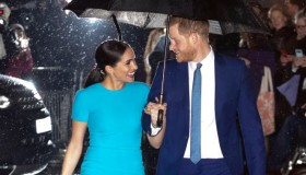 The Duke and Duchess of Sussex attend the Endeavour Fund Awards.