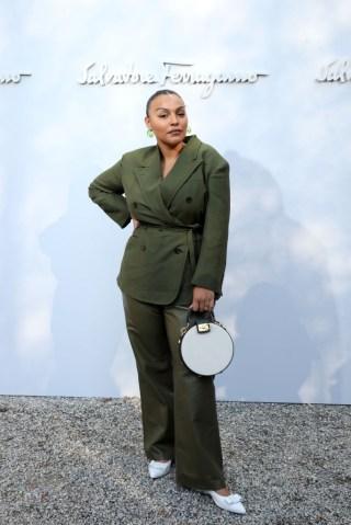 Salvatore Ferragamo - Arrivals - Milan Fashion Week Fall/Winter 2020/2021
