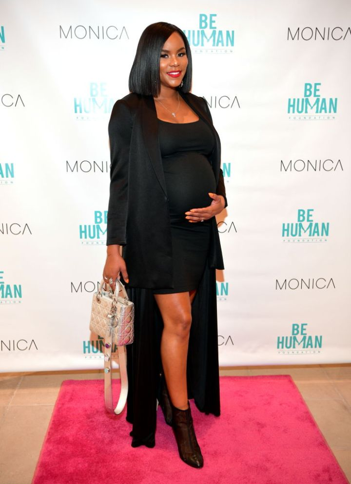 LETOYA LUCKETT AT THE BE HUMAN FOUNDATION LAUNCH, 2018