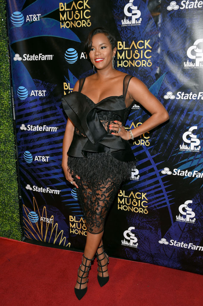 LETOYA LUCKETT AT THE BLACK MUSIC HONORS EVENT, 2018