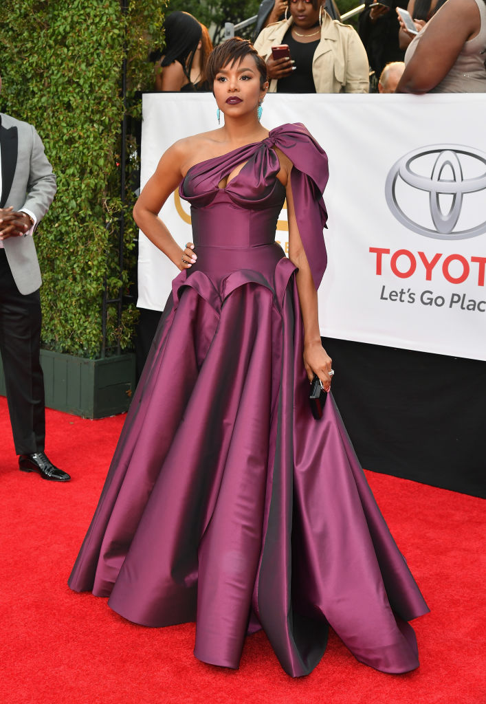 LETOYA LUCKETT AT THE 49TH NAACP IMAGE AWARDS, 2018