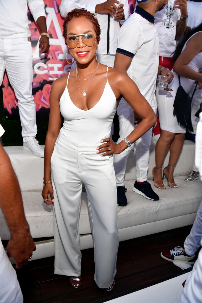 LETOYA LUCKETT AT THE ALL WHITE Labor Day PARTY, 2017