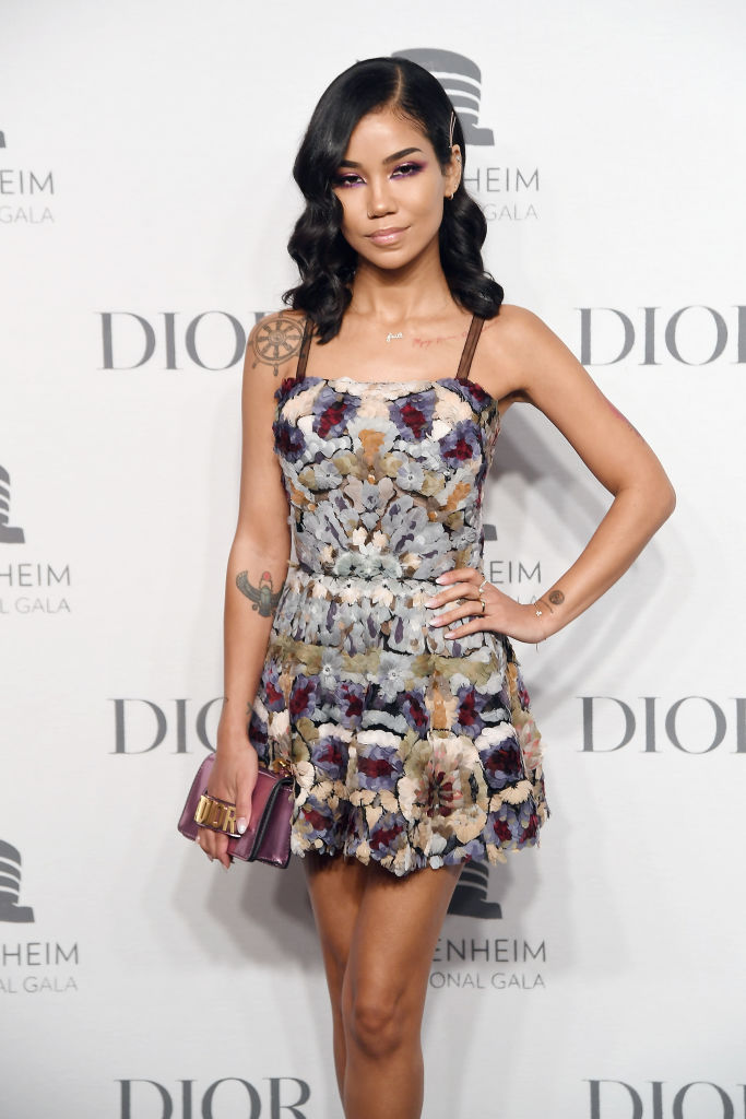 JHENE AIKO AT THE GUGGENHEIM INTERNATIONAL GALA PRE-PARTY, 2018