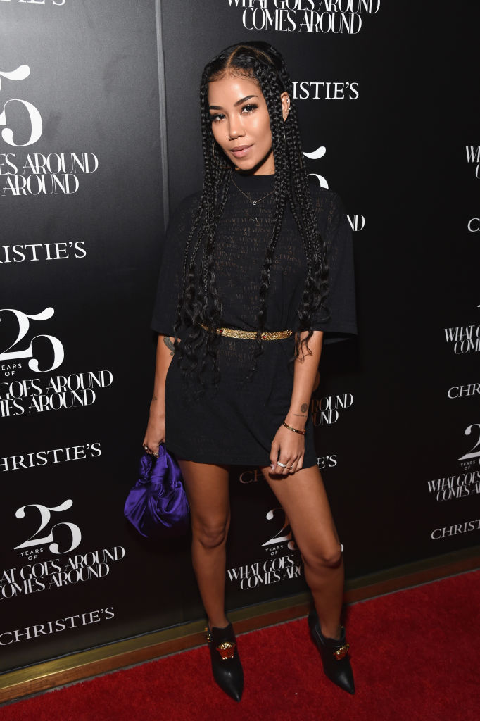 JHENE AIKO AT CHRISTIE'S X WHAT GOES AROUND COMES AROUND 25TH ANNIVERSARY AUCTION PREVIEW, 2018
