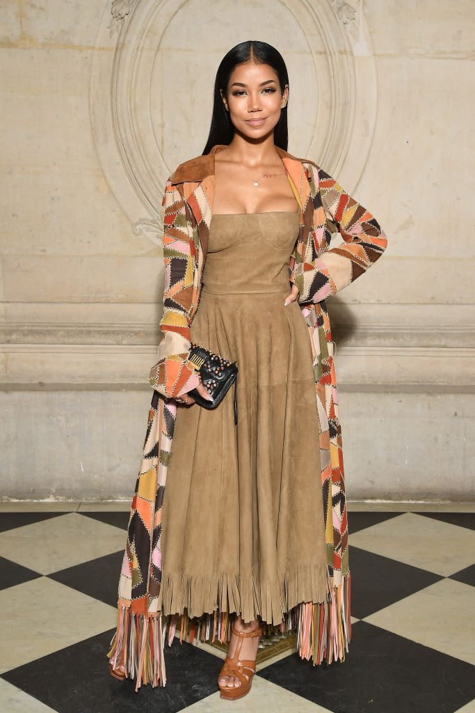 JHENE AIKO AT CHRISTIAN DIOR HAUT COUTURE RUNWAY SHOW, 2018