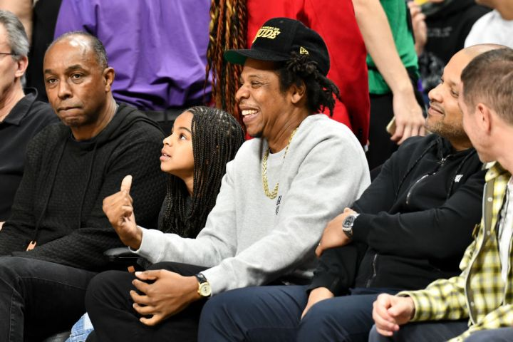Jay-Z and Blue Ivy's Daddy Daughter Date