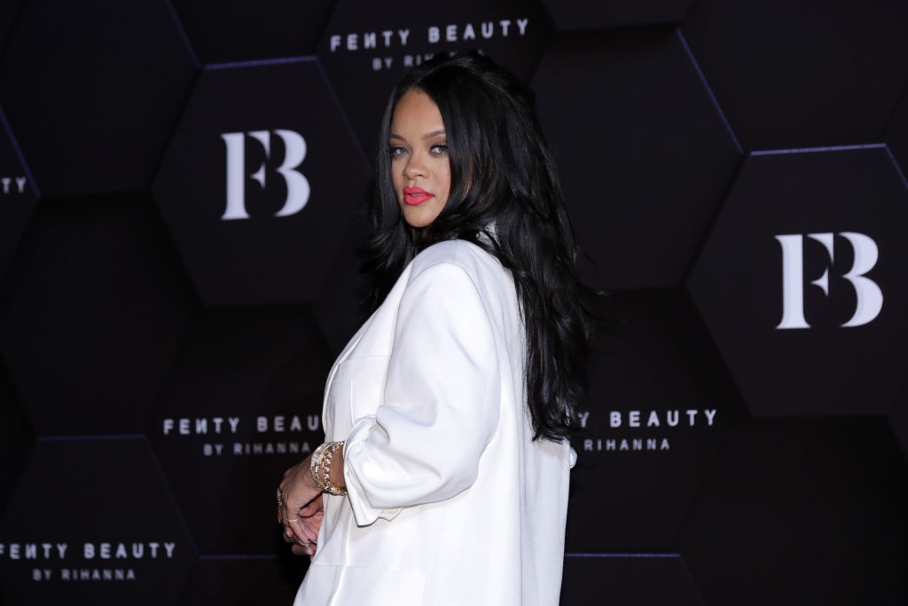 "Rihanna Attends Photocall for ""FENTY BEAUTY"""