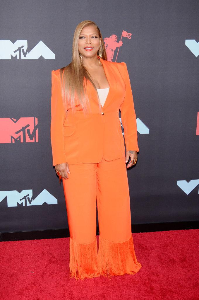 Queen Latifah (Dana Elaine Owens) attends the 2019 MTV Video...