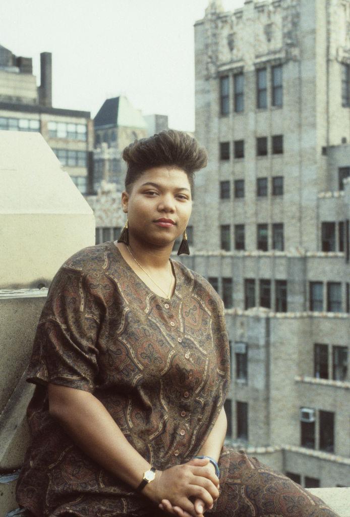 QUEEN LATIFAH IN NEW YORK CITY, 1989
