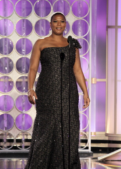 QUEEN LATIFAH AT THE 69TH ANNUAL GOLDEN AWARDS, 2012